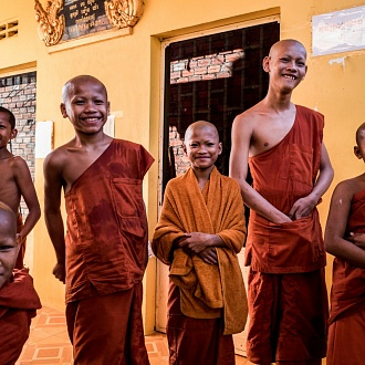 Cambodian Monks