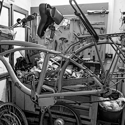 Lancioni artigiano della bicicletta