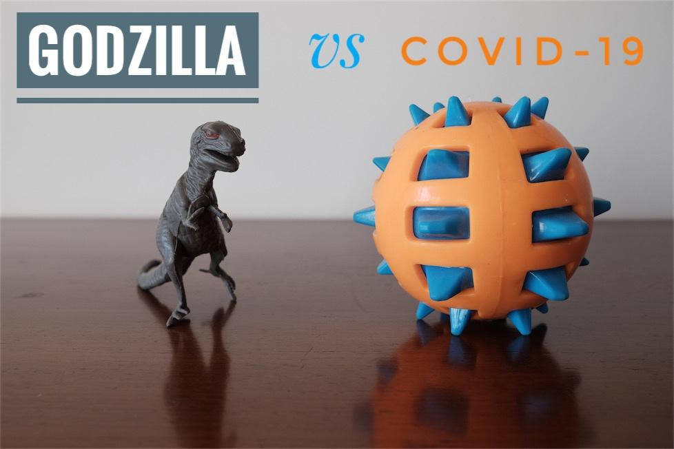 Godzilla vs Covid-19