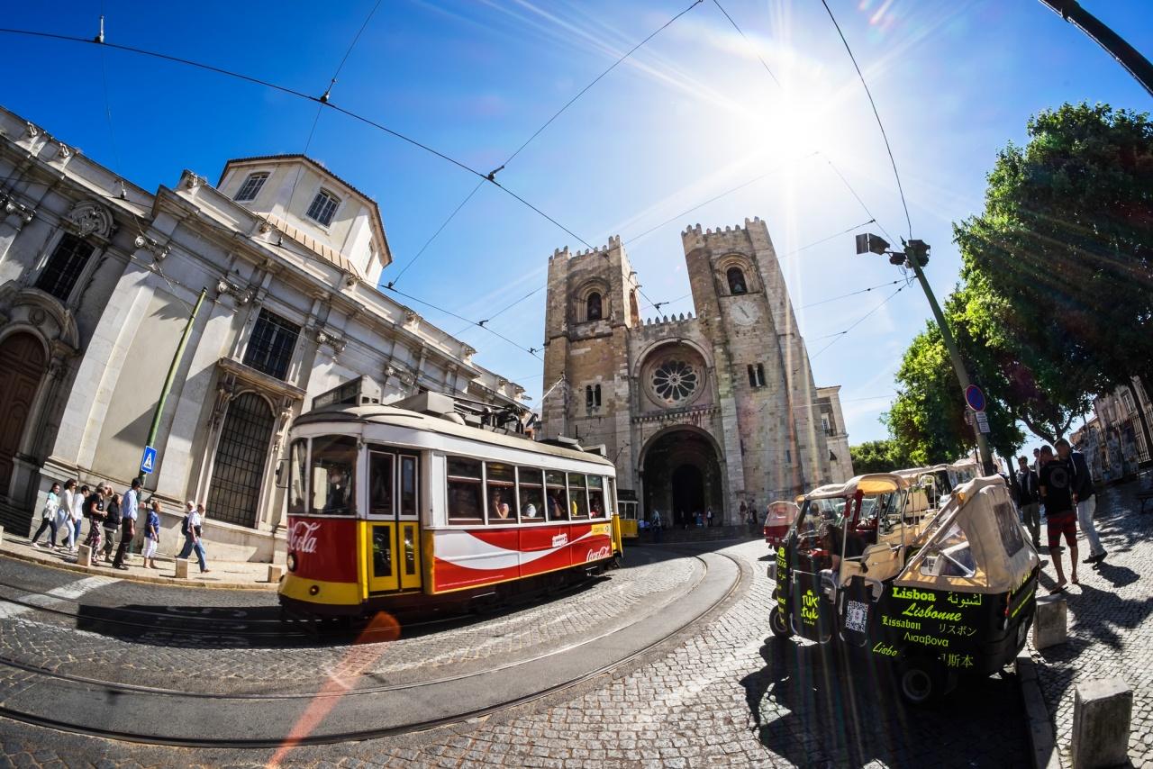 La cattedrale del Se - Lisbona, Alfama, 2014