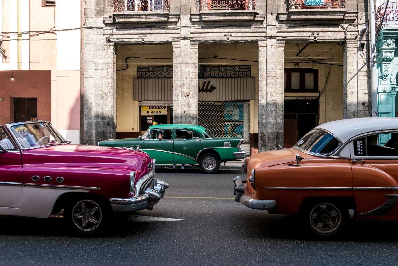 Havana Vieja - Vetture anni 50