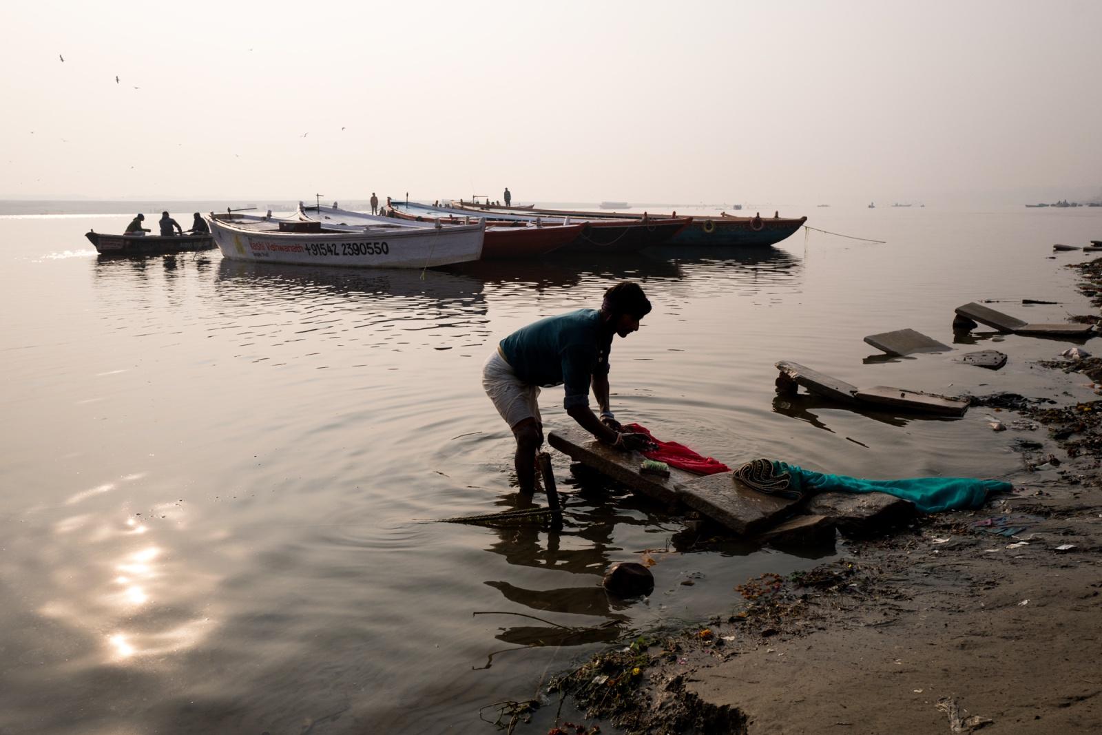 Life on Ganga in Varanasi