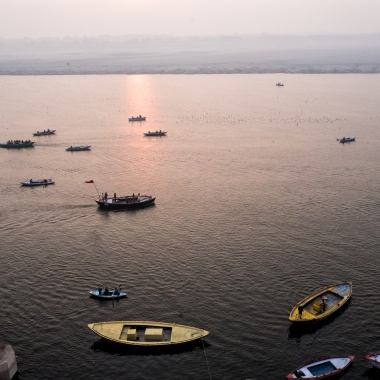 Mother Ganga in Varanasi