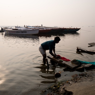 Life on Ganga in Varanasi