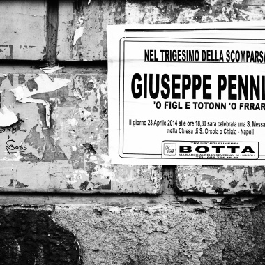 "Giuseppe Pennino, detto ""o figl e Tonino a ferrar"""