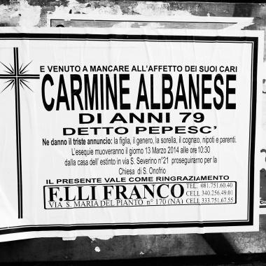 """Carmine Calabrese, detto """"pepesc"""""""