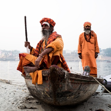 Baba in Varanasi