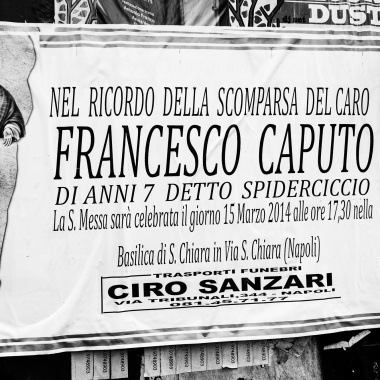 """Francesco Caputo, detto """"spiderciccio"""""""