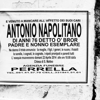 """Antonio Napolitano, detto """"o' bror"""""""