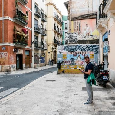Barrio El Carmen - Murales