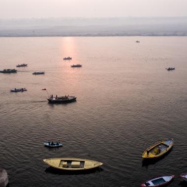 Mother Ganga in Varanasi
