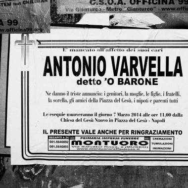 """Antonio Varvella, detto """"o baron"""""""